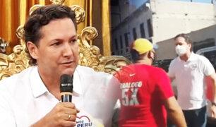 """Daniel Salaverry sobre altercado con venezolano: """"Me he defendido como cualquier peruano"""""""