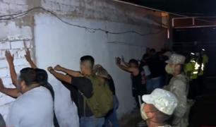 Chorrillos: intervienen a más de 30 jóvenes en fiesta Covid en pleno estado de emergencia