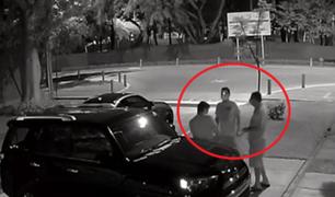 Miraflores: roban a jóvenes que estaban conversando afuera de su vivienda