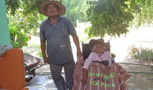 Ica: familiares de una anciana de 114 años piden apoyo para que la vacunen contra el Covid-19
