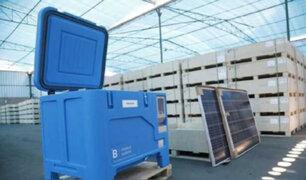 Covid-19: Minsa distribuirá congeladoras solares a distintas regiones para conservar vacunas