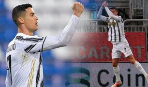 CR7 marcó un Hat trick en triunfo de la Juventus