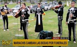 Mariachis señalan que la situación solo les permite cantar en funerales y velorios