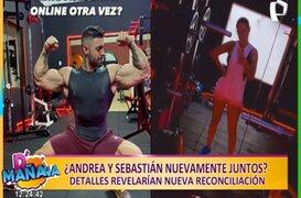Picantitas del espectáculo: Andrea San Martín y Sebastián Lizarzaburu se habrían reconciliado