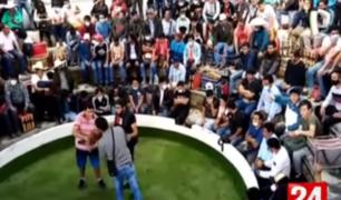 Más de 200 personas participaban de pelea de gallos en Cajamarca