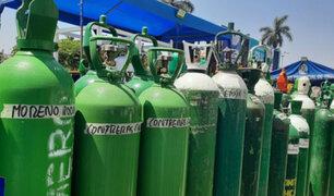 Loreto: enviarán 500 balones de oxígeno para atender la alta demanda de los pacientes Covid-19