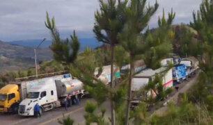 Transportistas de carga pesada iniciaron paro nacional desde distintas regiones