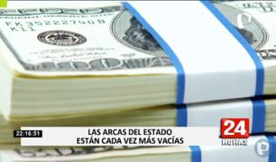 Especialistas advierten que al Estado le quedan menos de 5 mil millones de dólares en sus arcas