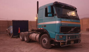 Ventanilla: recuperan camión que fue robado cuando transportaba  materiales de construcción