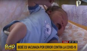 Chile: bebé de seis meses es vacunada por error contra el coronavirus