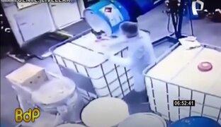 China: negligencia de un obrero causa explosión en fábrica