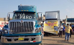 Vocero de transportistas invoca a manifestantes a dejar pasar ambulancias