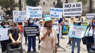 Neldy Mendoza señala que las frases que dijo fueron sacadas de contexto
