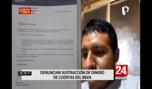 Hombre denunció el robo de S/ 8.000 de su cuenta y cambio de datos sin su autorización