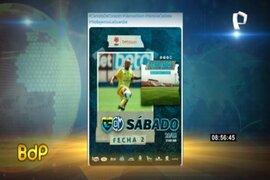 Carlos Stein anuncia en sus redes el partido contra Municipal por la Primera División del fútbol peruano