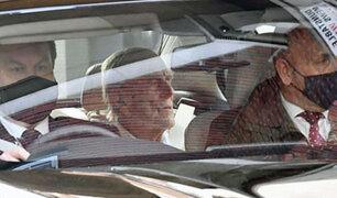 Reino Unido: esposo de la reina Isabel deja hospital tras un mes de internamiento