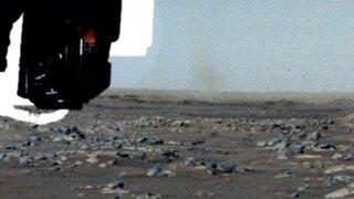 """""""Vi un diablo de polvo"""", informa rover Perseverance en Marte"""