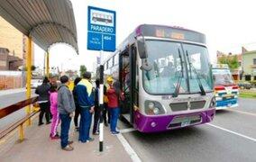 Transporte público tendrá nuevo horario desde el 21 de marzo en Lima y Callao