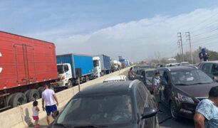 Tacna: camiones con oxígeno tomaron rutas alternas debido al bloqueo de carreteras