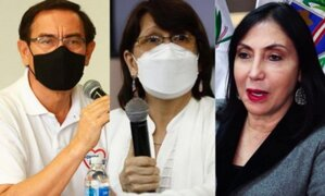 Comisión recomienda nuevas denuncias contra Vizcarra, Mazzetti y Astete por vacunación irregular
