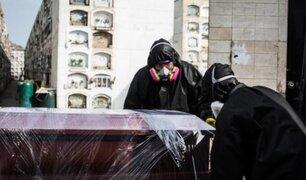 Curva de fallecidos por covid-19 a nivel nacional registró ligero descenso, según Gobierno