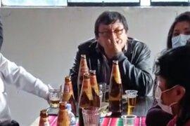 Cusco: detienen a alcalde por realizar reunión social durante estado de emergencia