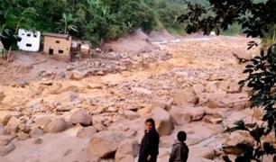 Piura: reportan la desaparición de siete menores tras aluvión en Canchaque