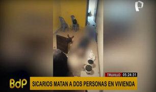 Trujillo: matan a dos personas en una vivienda