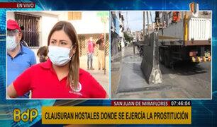 SJM: municipio clausuró hostales de manera definitiva donde se ejercía el meretricio
