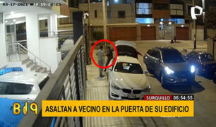Surquillo: encañonan a un hombre y lo asaltan en la puerta de su vivienda