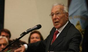 Luis Bedoya Reyes: fundador del PPC falleció hoy a los 102 años