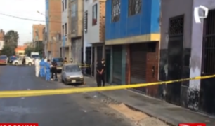 Cercado: siguen investigando brutal asesinato de joven