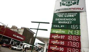 Petroperú: anuncia reducción de S/ 1 por galón en precios de combustibles en grifos