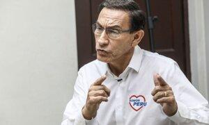 Vizcarra sobre pedido de prisión preventiva: Buscan sacarme de las elecciones