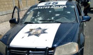México: al menos 13 muertos deja emboscada contra convoy policial