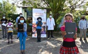 Más de 3 mil escolares de zonas vulnerables recibirán tablets