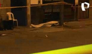 Cercado de Lima: sicarios mataron de varios disparos a joven en la puerta de su casa