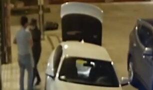 Surquillo: delincuentes en auto de alta gama roban a ingeniero en la puerta de su vivienda