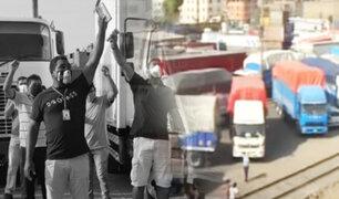 Se cumple quinto día de paro de transportistas