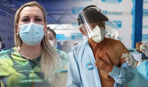 EsSalud: Fiorella Molinelli advierte que vacunación a adultos mayores es con previa cita