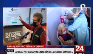 'Pongo el hombro': sigue registro de adultos mayores no asegurados para vacuna COVID-19