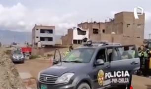 Huancayo: policía fue hallado muerto al interior de patrullero