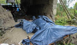 Huánuco: integrantes de toda una familia murieron tras derrumbe de pared mientras dormían