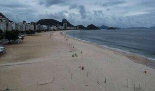 Río de Janeiro: disponen cierre de playas para frenar contagios por COVID-19