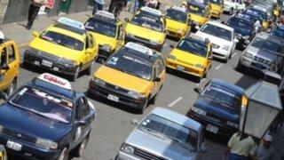 Trujillo: taxis y microbuses también acatan paro y ciudadanos se quedan sin servicio