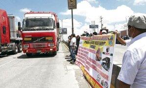 Ejecutivo ratifica disposición para mantener el diálogo con transportistas