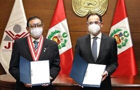 Elecciones 2021: Misión de observación de la OEA y JNE suscribieron acuerdo