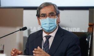 Ugarte reitera que pronto se podrá anunciar vacunación a grupo de 60 años