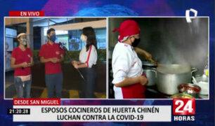 Hijos de famosos cocineros del mercado de Surquillo piden ayuda para sus padres contagiados de COVID-19