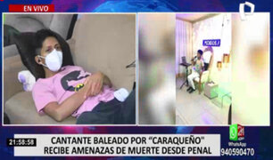 "Joven cantante que fue baleado por ""Caraqueño"" recibe amenazas de muerte desde penal"